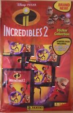 Disney Pixar The Incredibles 2 ~ Panini Sticker Collection ~ Starter Pack