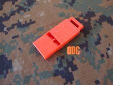 USAF Army Military Surplus Survival Vest Kit Go Bag Boating Emergency Whistle GI