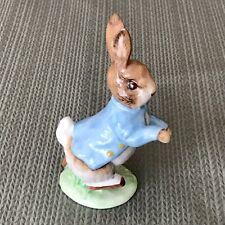 "1948 Peter Rabbit 4.5"" Ceramic Figurine, F. Warne, Beswick England"
