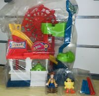 FISHER-PRICE Disney Pixar Toy Story 4 Carnival Playset | OPEN BOX