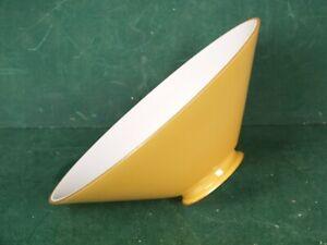 Lampenschirm E14 E27 Glasschirm Grün Flach konisch für Stehlampe Hängelampe