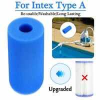 Cartouche réutilisable d'éponge de mousse filtrante de piscine Pour Intex Type A