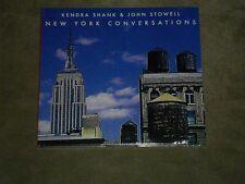 Kendra Shank & John Stowell New York Conversations sealed