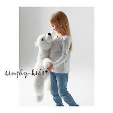 IKEA Polar Bear White Plush Cuddly Friend Snuttig Bear Soft Toy Stuffed Bear NEW