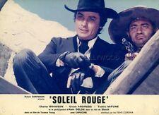 ALAIN DELON SOLEIL ROUGE 1971 VINTAGE PHOTO ORIGINAL #8