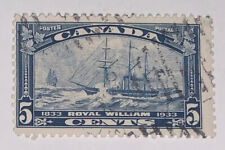 Travelstamps: Canada Stamps #204 1933 Royal William Trans-Atlantic Crossing Used
