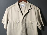Vintage D'Gala Florida Mens Short Sleeve Size XL Safari Shirt USA Made