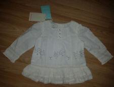 Moonson camisa blanca, TOP, BLUSON PARA NIÑA DE 12-18 meses