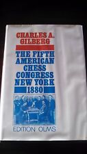 "Chess History: ""The Fifth American Chess Congress New York 1880""  Hardcover 1986"
