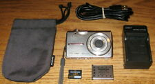 Olympus FE-280 8MP 3x Optical Zoom Silver Used Good Cond Guarantee Free Shipping