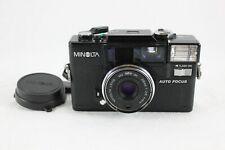 MINOLTA Hi-Matic AF-D Point & Shoot 35mm Film Camera Vintage Used