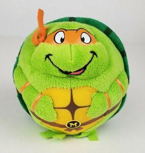 "Ty Beanie Ballz ""Michelangelo"" TMNT Teenage Mutant Ninja Turtles Plush Ball"