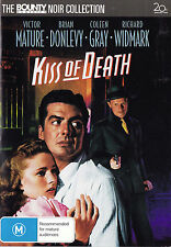 KISS OF DEATH Victor Mature DVD - All Zone - New - PAL R4