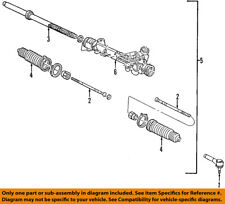 FORD OEM Steering Gear-Outer Tie Rod End F5TZ3A131A