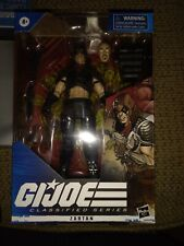 "Hasbro GI Joe Classified Series Zartan 6"" Action Figure New In-Hand MISB"