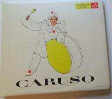 ENRICO CARUSO ANTHOLOGY 1956 RCA 3 LP RECORD SET IN A CLOTH BINDER w/ILLUS BKLET