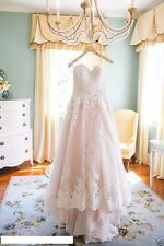 Custom White/Ivory Lace Bridal Gown Wedding Dress 6-8-10-12-14-16-18++