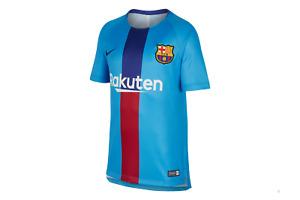 FC Barcelona Kids' Pre-Match Jersey (Nike) - boy's L (147-158 cm)