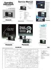 Bedien -/Servicehandbücher + WERBUNG + Review für die Panasonic RF-B65 - Fotokopie
