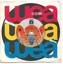 Takeaways Sweet & Sour Australian 45 record Sharon O'Neill Deborah Conway (1984)