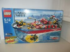 2007 Lego City Fireboat 7906 - Ages 5-12 *This Ship Floats*