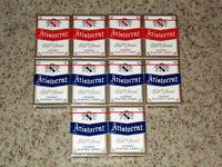SEALED 10 Decks Aristocrat Standard Index Casino Playing Cards (6 Blue 4 Red)