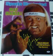 Hulk Hogan Signed Sports Illustrated 1985 WWF 16x20 Photo Poster PSA/DNA COA WWE