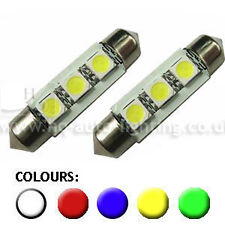 C5W LED Number Plate bulbs fit VW Transporter T5 Bus-Van