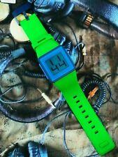 Nixon The Newton Digital Watch Green Blue & Navy & Pong Game * New *