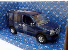 Norev 1/24 Scale Model Car 771050 - Fiat Doblo Malibu - Blue