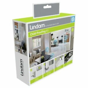Lindam Home Safety Kit baby child safe Door Stopper Table Protector 21 pieces
