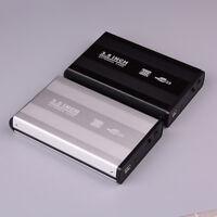 """3.5"""" USB 2.0 Hdd Sata Boîtier Disque Dur Externe Boîte de Stockage Noir..."""
