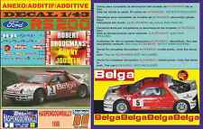 ANEXO DECAL 1/43 FORD RS 200 ROBERT DROOGMANS HASPENGOUWRALLY 1986 (09)