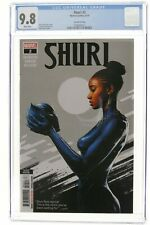 Shuri 2 2nd Second print CGC 9.8 Spratt Marvel Comics 2019 Wakanda Black Panther
