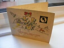 More details for 1945 christmas card from 31 field hygiene section baor germany