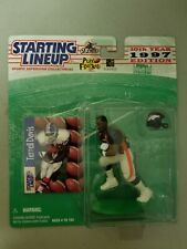 1997 TERRELL DAVIS (ROOKIE) DENVER BRONCOS FOOTBALL STARTING LINEUP