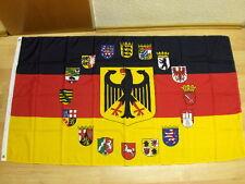 Fahnen Flagge Deutschland 16 Bundesländer 90 x 150 cm