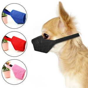 Anti Bark Dog Muzzle for Small Large Dogs Adjustable Pet Safety Mouth Muzzles