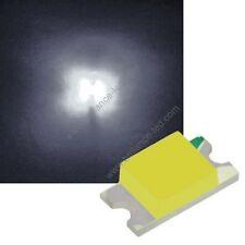 100x Led CMS SMD 1206 Blanc Pur à souder PLCC-2 - pure white haute luminosité