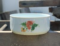 """Kaiser Lauriane 8"""" Vegetable Bowl Porcelain Hand Painted W Germany"""