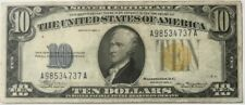 USA - North Africa Emergency Issue - $10 -Ten Dollars - 1934a - Very Fine