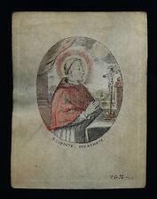 SANTINO PERGAMENA 1600 S.CARLO BORROMEO g. huberti