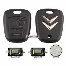 Citroen C1 C2 C3 Xsara picasso 2 Button Remote Key Fob Case Complete Repair Kit