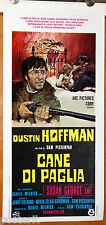 locandina film STRAW DOGS Sam Peckinpah Dustin Hoffman Susan George 1972