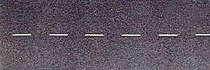 Busch (HO) #7086 Flexible Self Adhesive Roadway w/Dash White Center - NIB