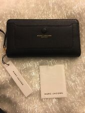 New With Tags Marc Jacobs Black  Zip Around wallet