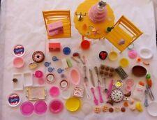 100+ Barbie Accessories -  Food, Kitchen Items, Furniture, Appliance