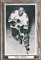1964-67 Beehive Hockey Premium Group 3 Photo Chicago Blackhawks #50 Doug Mohns