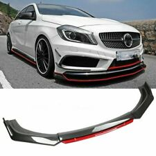 For Toyota Camry 2000 20 Front Bumper Lip Splitter Chin Spoiler Carbon Fiberred Fits Toyota Yaris