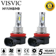 New listing H11 H8 H9 Motorcycle LED Headlights Bulbs Kit High/Low 100W 11000LM 6000K White(Fits: LaCrosse)